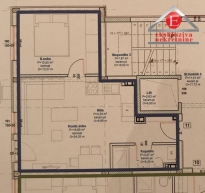 Novi jednoiposoban stan Bulevar mira ID:2502/ZP